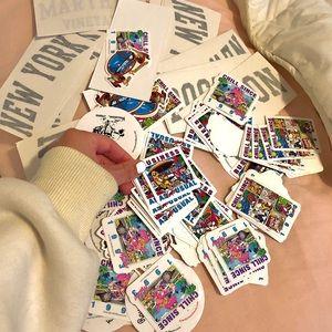 Brandy Melville stickers All bundle .
